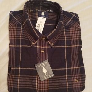 Roundtree & Yorke flannel men's XXLT shirt